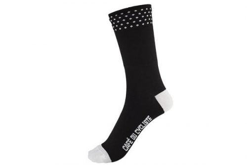 Cafe Du Cycliste spotted socks