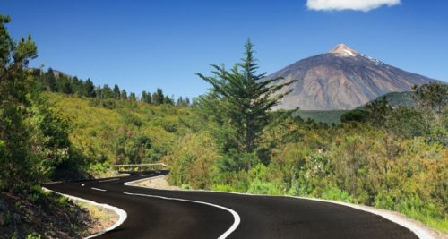 View of Mount Teide