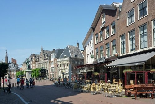 Local cafe's at Haarlem