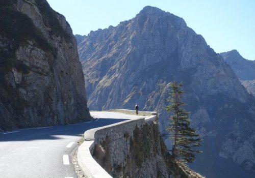 Roads through the mountains