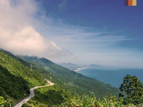 View of the Hai Van Pass