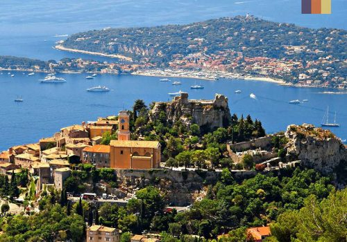 View of Eze Riviera