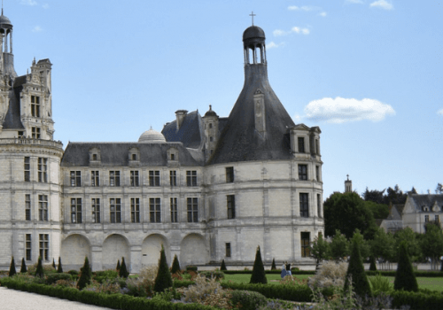 Chateaux Chambord in the Loire valley, France