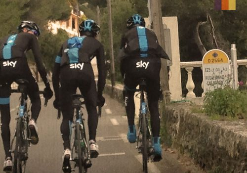Team Sky riders