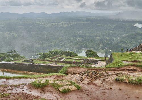 View of Sri Lanka