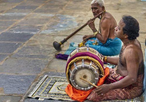 Sri Lanka people making music