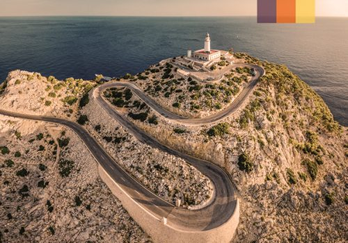 Cap Formentor Lighthouse in northern Mallorca