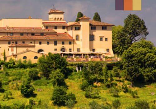 View of Castello del Nero