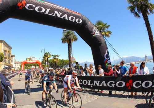Finish of the Colnago festival