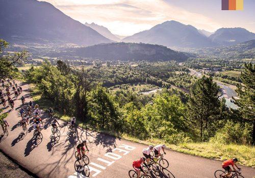 View of the Etape du Tour