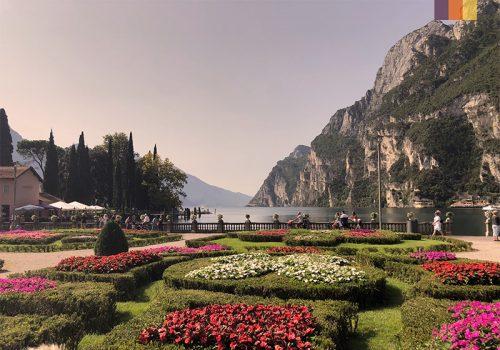 Views of the Lake Garda in Italy