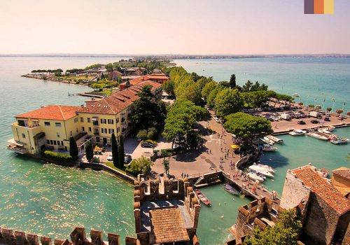 View of the Lake Garda Hotel