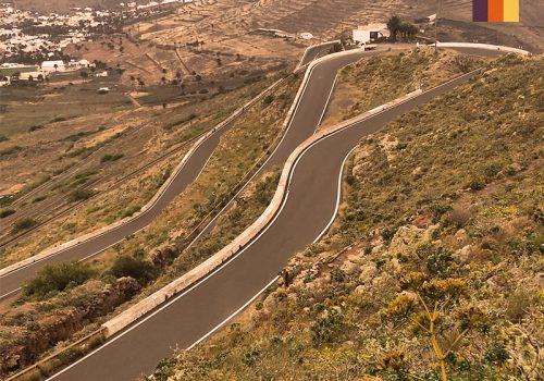 Roads in Lanzarote