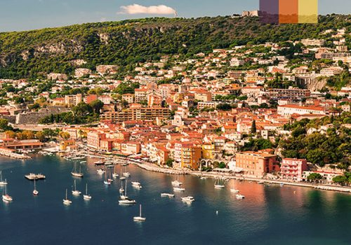 Coastline of French Riviera