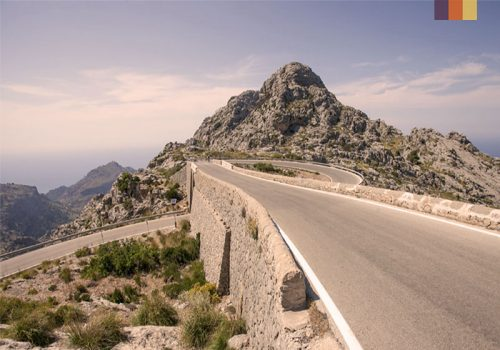 Sa Calobra's roads