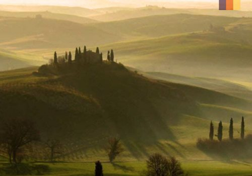 Beautiful landscape of Tuscany