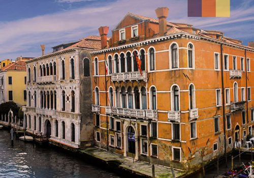 Picturesque houses of Venice