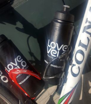 Love Velo drinking bottles
