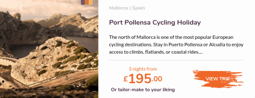 Love Velo Port Pollensa cycling Holiday