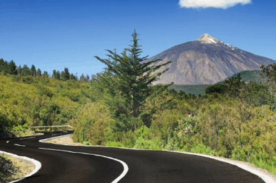 Way to El Teide