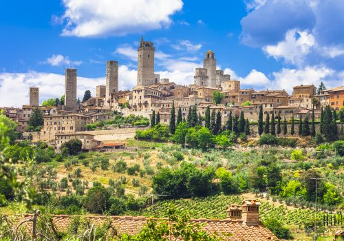 Beautiful San Gimignano In Tuscany