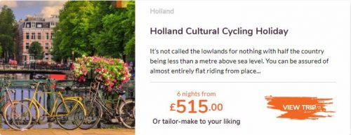 Love Velo Holland cultural cycling holiday