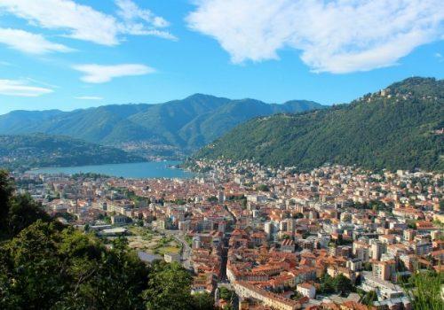 View of the Lake Como