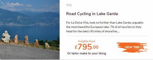 Love Velo Road cycling in Lake Garda