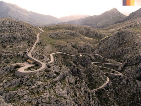 Roads of Port Pollensa