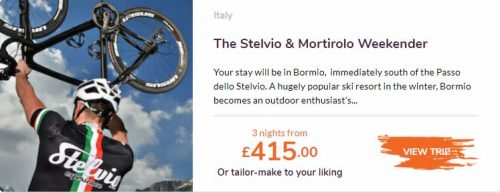 Love Velo Stelvio and Mortitolo weekender