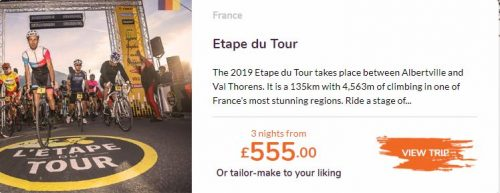 Love Velo Etape du Tour