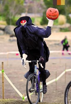 Halloween costume for cyclists