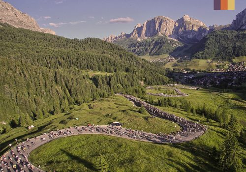 The Maratona dles Dolomites
