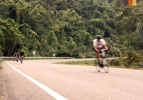 Cyclists in Taiwan