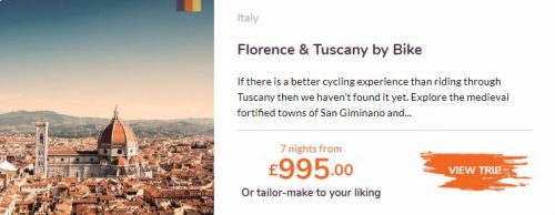 Love velo Florence and Tuscany by bike