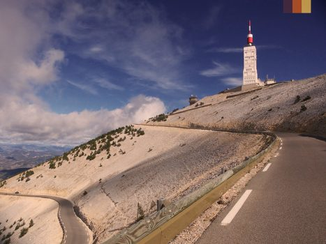 View of the Mont Ventoux