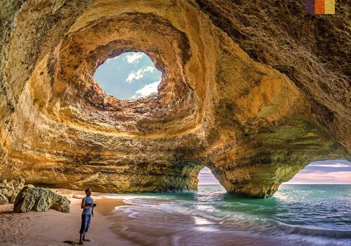 The coast of Algarve