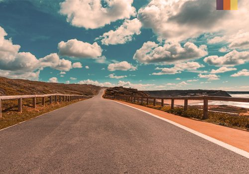 Road in Algarve