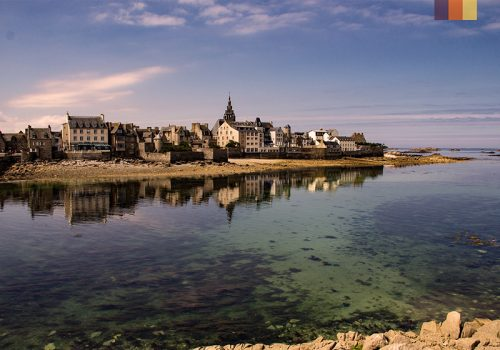 The French north coast
