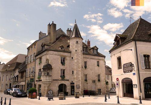 Wine capital of Burgundy