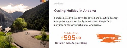 Love Velo -Cycling holiday in Andorra