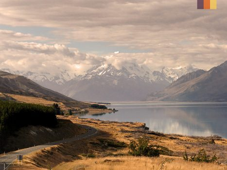 View of Aoraki mountain
