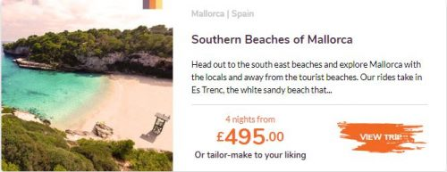 , May Booking of the Month – Mallorca Family Cycling Holiday