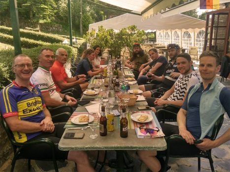 , British Cycling Club Members Holiday in Andorra