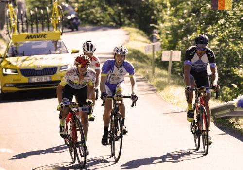 Etape du tour road cyclists
