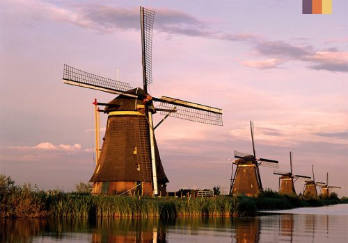 windmills holland