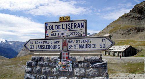 Col de lseran Signpost