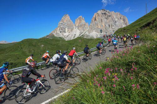 Passo Giau in the Dolomites