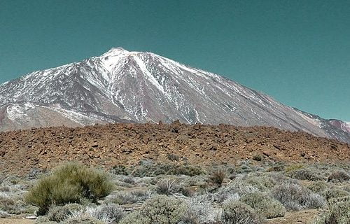 Panoramic view of Mount Teide in Tenerife