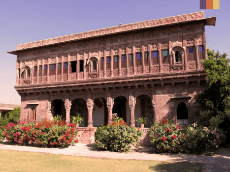 the chandelao garh estate near jodhpur in rajasthan india